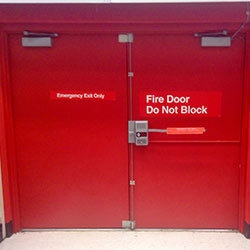 Commercial Fire Rated Doors in Great Portland Street W1