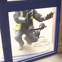 Premier Security London offers 24 hour glass and glazing services for double glazed doors and windows throughout Sandridge AL3. Is it a broken window that needs fixing? Or do you need a fast glass replacement for your smashed shop front?