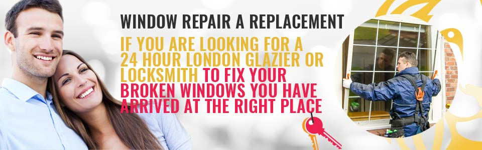 24Hr Window Repair & Window Replacement available for Homes & Business Premises in Grays Inn WC1 & across West London