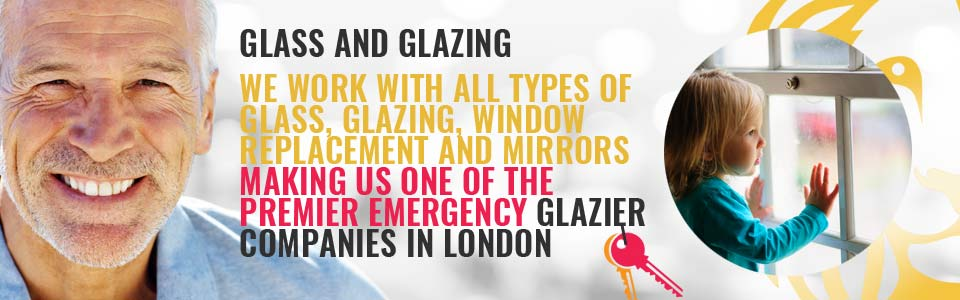 Local Glaziers for Emergencies at Homes & Commercial Premises across London