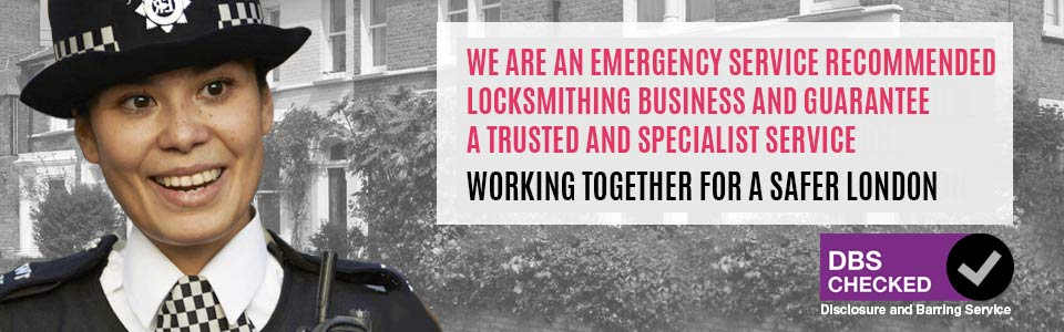 We are a Metropolitan Police Certified Locksmith Service